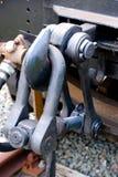 Crochet géant de train Images stock