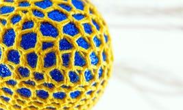 Crochet ha coperto le decorazioni Fotografia Stock Libera da Diritti