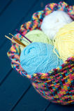 Crochet hobby Royalty Free Stock Photography