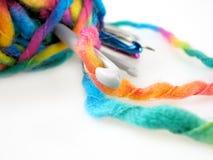 Crochet Hook Royalty Free Stock Photos