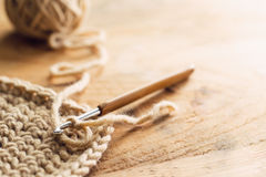 Crochet royalty free stock images