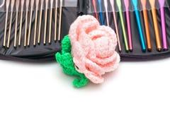 Crochet hooks Royalty Free Stock Images