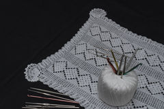 Crochet, Italian manufacture. made in Italy Stock Photo
