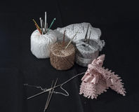 Crochet, Italian manufacture. made in Italy Royalty Free Stock Images