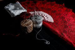 Crochet, Italian manufacture. made in Italy Royalty Free Stock Photo