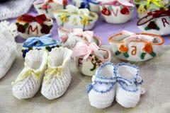 Crochet kniteware Royalty Free Stock Photography