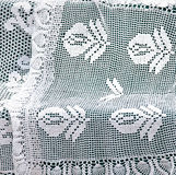 Crochet lace. Close up of crochet lace Stock Image