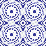Crochet lace pattern Royalty Free Stock Photo