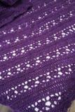 Crochet, Lace Pattern Blanket Royalty Free Stock Photo
