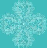 Crochet love background Stock Photo