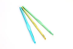 Crochet Needles Royalty Free Stock Images