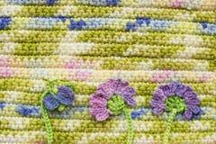 Crochet original lumineux et coloré Image libre de droits