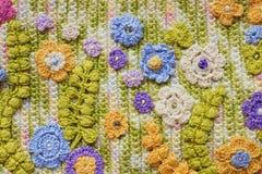 Crochet original lumineux et coloré Images stock