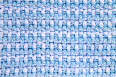 Crochet pattern background front and back loop double crochet alternating Stock Photo