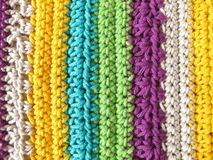 Crochet pattern Royalty Free Stock Photos
