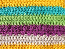 Crochet pattern Royalty Free Stock Photo