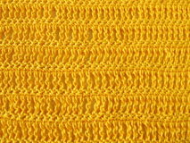 Crochet pattern from single and triple crochet stitch Stock Photos