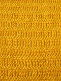 Crochet pattern from single and triple crochet stitch Stock Images