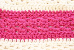 Crochet Pattern Texture Royalty Free Stock Photo