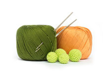 Crochet set Stock Image