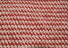 Crochet single stitch rows Stock Photography