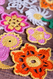 Crochet, soft focus Royalty Free Stock Images