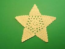 Crochet star Stock Image