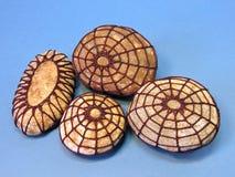 Crochet stones Stock Photos