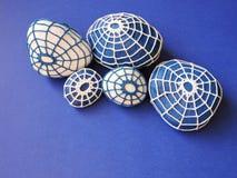 Crochet stones pattern Stock Photography