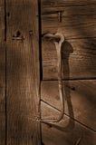 Crochet sur la trappe Image stock