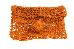 Crochet tablecloth Royalty Free Stock Image
