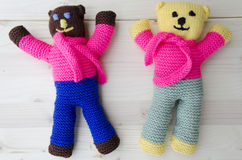 Crochet Teddy Bear Photo stock