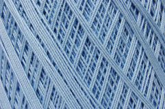 Crochet Thread - Baby Blue Stock Photos