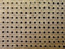 Crochet van het linnen stock foto