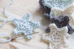 Crochet Yarn Royalty Free Stock Photography