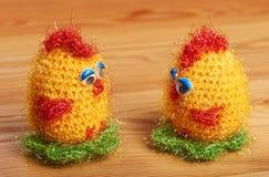 crochet zacht stuk speelgoed stock foto