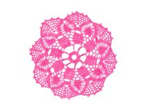 Crocheted doily Royalty Free Stock Image