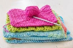 Crocheted Handiwork Stock Images