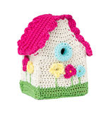 Crocheted Home Stock Image