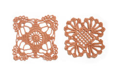 Crocheted lace Stock Photography