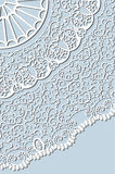 Openwork lace Stock Photography
