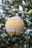 Crocheted Ornament Royalty Free Stock Image