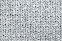 Crocheted Place Setting, Detail Royalty Free Stock Photos
