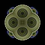 Crocheted potholder Stock Images