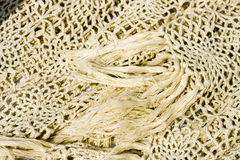 Crocheted shawl Royalty Free Stock Photo