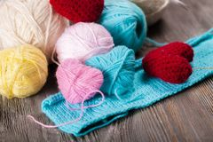 crocheting stock foto