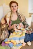 Crocheting Imagem de Stock