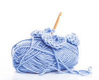 Crocheting Stock Photo