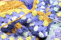 crocheting stock afbeeldingen