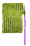 Crocheting background Stock Photo